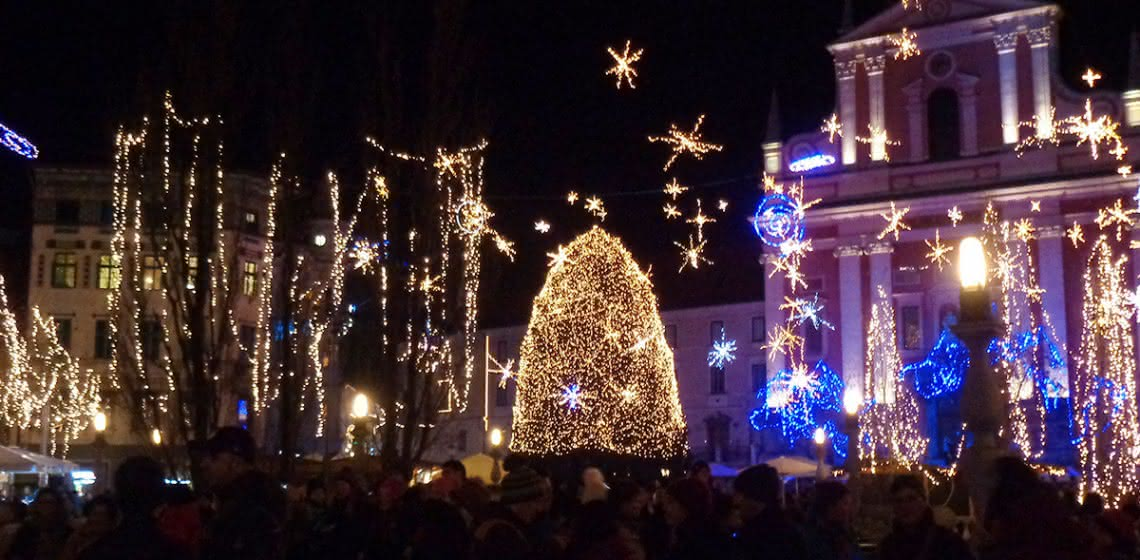 Image result for christmas spirit ljubljana