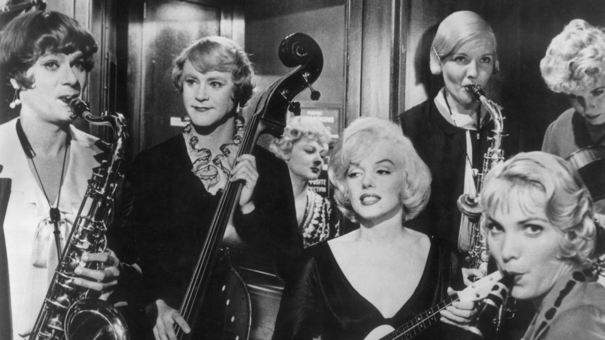 "Résultat de recherche d'images pour ""some like it hot tony curtis"""
