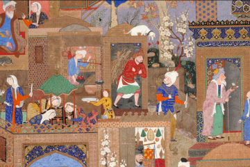 Une image contenant autel, très coloré, décoré, draps et couvertures Description générée automatiquement